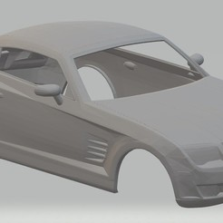 foto 1.jpg Download STL file Chrysler Crossfire Printable Body Car • 3D printer model, hora80