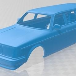 foto 1.jpg Télécharger fichier STL Volvo 245 Wagon 1984 Voiture à carrosserie imprimable • Plan pour impression 3D, hora80