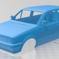 Descargar archivos 3D Volkswagen Polo 1990 Printable Body Car, hora80
