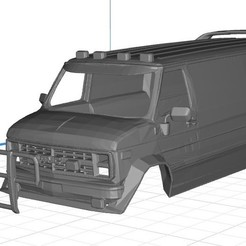 Download 3D printing models Ventrura A Team Body Van Printable 3D, hora80