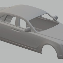 Descargar modelo 3D Ghost Printable Body Car, hora80