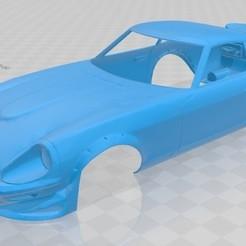 Download 3D printing templates Datsun 280Z Printable Body Car, hora80