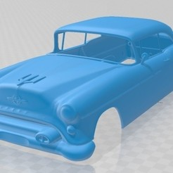 foto 1.jpg Download STL file 88 Super Holiday coupe 1954 Printable Body Car • 3D printable template, hora80