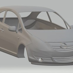 foto 1.jpg Download STL file Opel Corsa 2009 Printable Body Car • 3D printing template, hora80