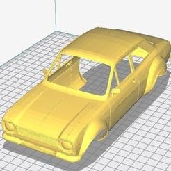 foto 1.jpg Download STL file Escort MK1 Printable Body Car • 3D printable object, hora80
