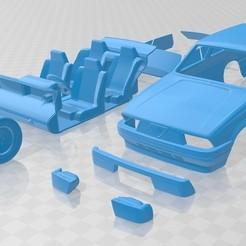 Descargar modelo 3D Alfa Romeo 75 1985 Printable Car , hora80
