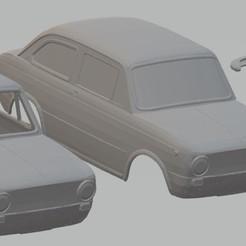Descargar archivos 3D Seat 850 - Fiat 850 Printable Body Car, hora80