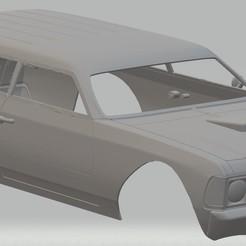 Descargar modelo 3D Caravan Custom Printable Body Car, hora80