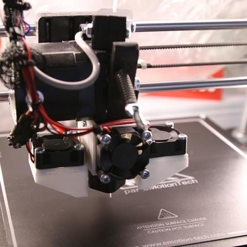 Download free STL file Cooling system Prusa i3 rework • 3D print design, 3DPurePrint