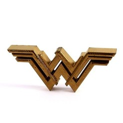 Download free STL files Emblem Wonder Woman, 3DPurePrint