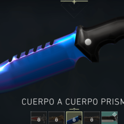 prism.png Download STL file Valorant Prism Knife • Object to 3D print, guilleMAGU