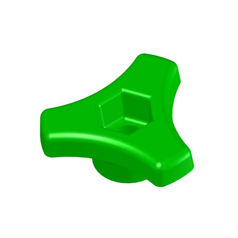 3d Model Wheel M6 Handle Button Door Furniture DIY Star, Laurence