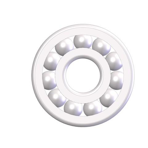 ROULEMENT  d08-D24-h07 mm A.JPG Download STL file ROLLING 08-24-07 Bearing 628 • 3D printer design, Laurence