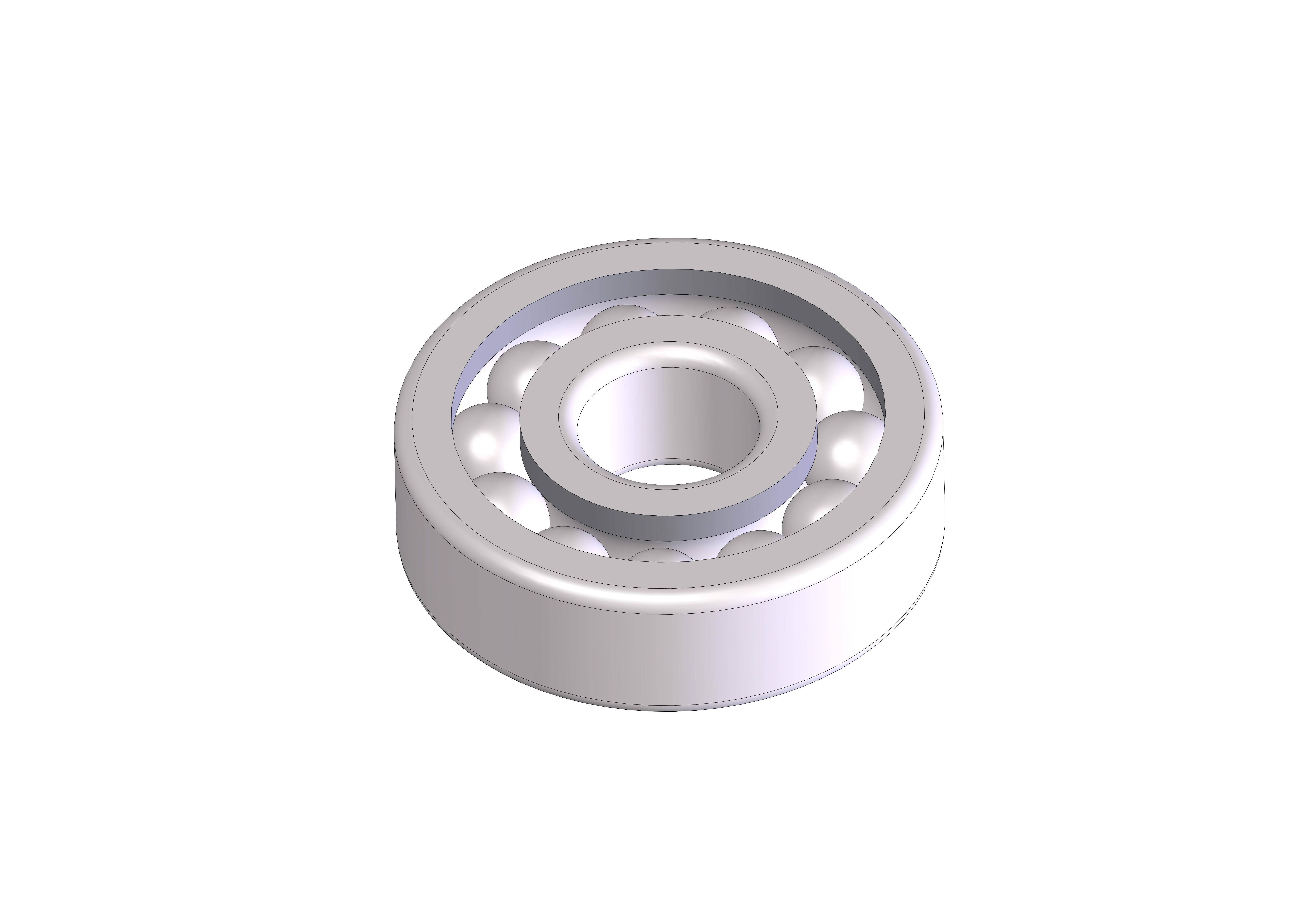 ROULEMENT  d08-D24-h07 mm C.JPG Download STL file ROLLING 08-24-07 Bearing 628 • 3D printer design, Laurence