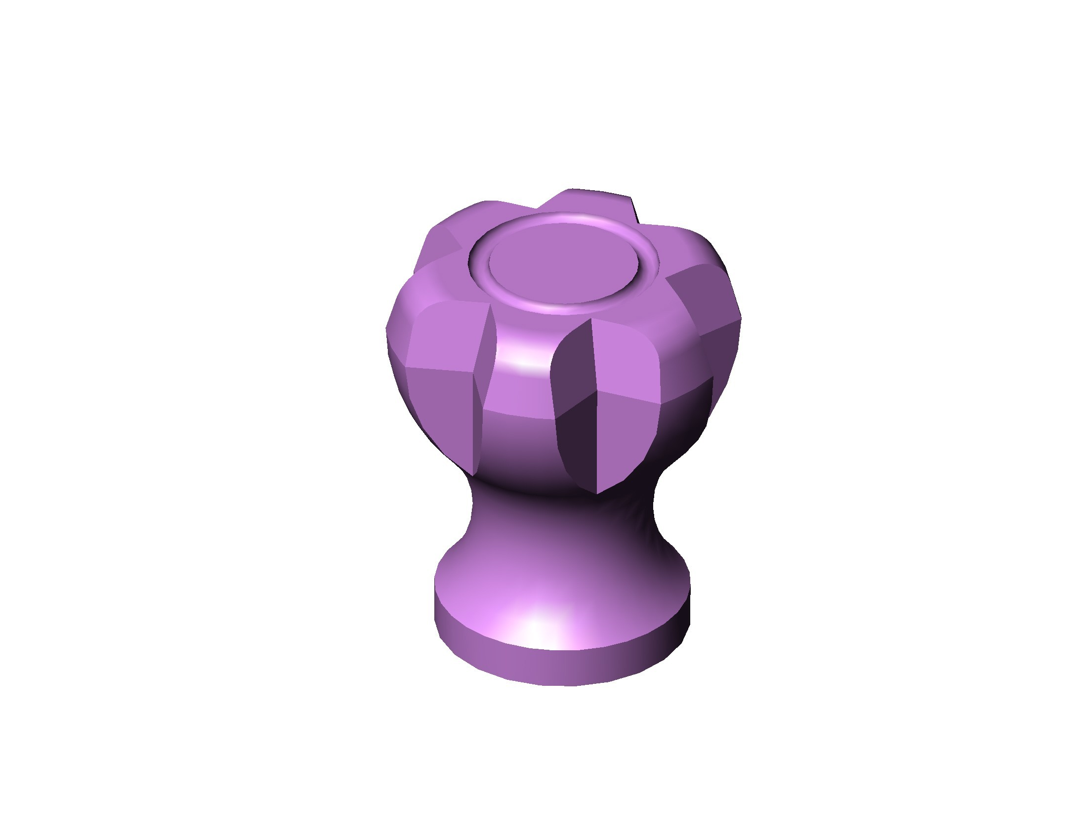 BOUTON PORTE M4 - D20 MM - 40 HAUT A.JPG Download STL file COMMODE BUTTON OFFICE DECO • Object to 3D print, Laurence