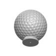 Download STL file GOLF BALL BUTTON • Object to 3D print, Laurence