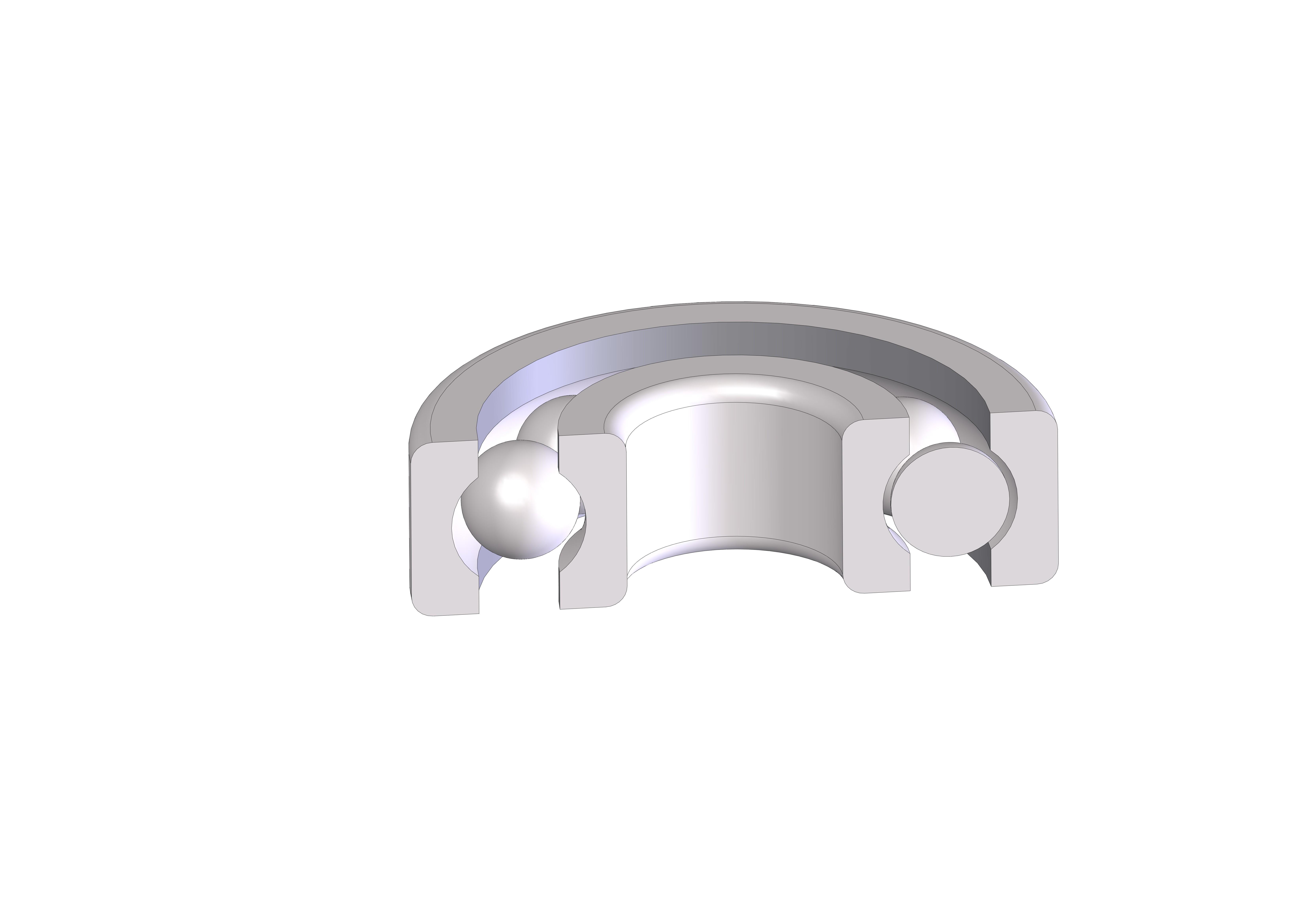 ROULEMENT  d08-D24-h07 mm B.JPG Download STL file ROLLING 08-24-07 Bearing 628 • 3D printer design, Laurence