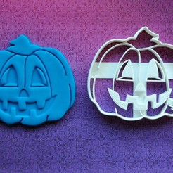 Download 3D printing files  Pumpkin cookie cutter - size 10cm, dragoboarder