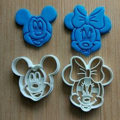 stl Cookie cutter Minnie, dragoboarder