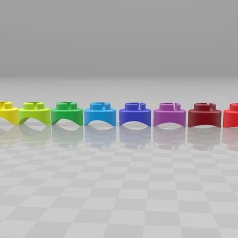 Télécharger fichier 3D gratuit Embouts concaves pour pince - embout concave pour joint Serre-joint, Julien_DaCosta