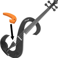 Download free 3D printing files Violin fine tuner piece - Stagg, Julien_DaCosta