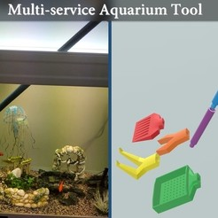 Download free 3D printing files Fish Tank / Aquarium multi-service tools, Julien_DaCosta