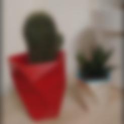 STL gratuit Twisted flowers pot. Pot de fleurs design, Julien_DaCosta