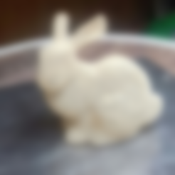 Free STL file Bunny Voronoi - with support. Rabbit Voronoi with support, Julien_DaCosta