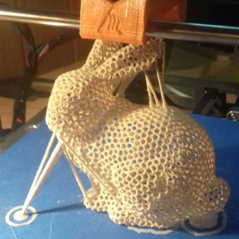Capture d'écran 2017-05-05 à 16.58.18.png Download free STL file Bunny Voronoi - with support. Rabbit Voronoi with support • 3D print design, Julien_DaCosta