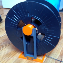 Download free STL file Spool holder - Porte bobine • 3D printer model, Julien_DaCosta