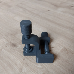 Capture d'écran 2018-01-02 à 18.18.24.png Download free STL file Double Clamp • 3D printable design, Julien_DaCosta