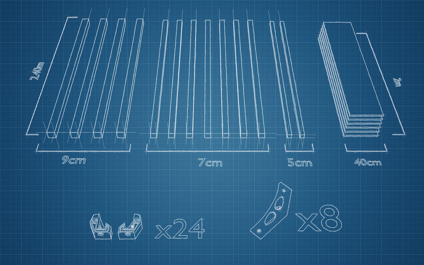 blueprint_material3.png Download free STL file PERGOLA - wood and 3d printing • 3D printer model, Julien_DaCosta