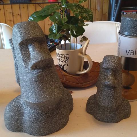 Fichier STL gratuit Moai statue -No overhang, Julien_DaCosta