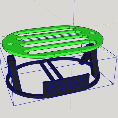 Free 3D printer files mega drive sega, Stanto