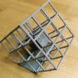 Download free 3D printer designs Grid print with FUN BALL or CUBE, squiqui