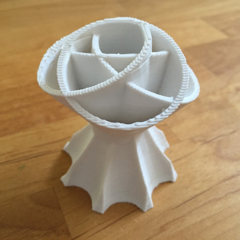 Free 3d printer designs flower separator vase, squiqui