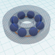 Download free STL file Ball Gear with ball support • 3D printing model, squiqui