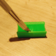 Download free 3D printer designs Hand Brush fully printed, squiqui