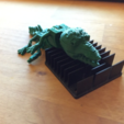 Télécharger objet 3D gratuit Reptile print at once with movable torso, squiqui