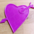 Free 3D file Amor heart - love - liebe - amoure - te amo - sign, squiqui