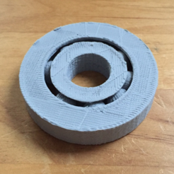 Free 3d print files Ball Gear with ball support, squiqui