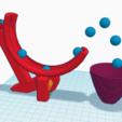 Download free STL file Ball 2 Basket • 3D print object, squiqui
