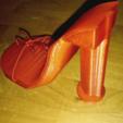 Capture d'écran 2017-08-16 à 18.28.42.png Download free STL file High Heel Shoe Model • 3D printable object, squiqui