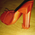 Free 3d print files High Heel Shoe Model, squiqui