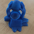 Free 3d printer files Trophy handball, squiqui