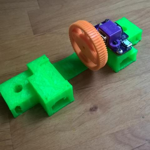 Download free 3D printing models Flotilla Motor stand, squiqui