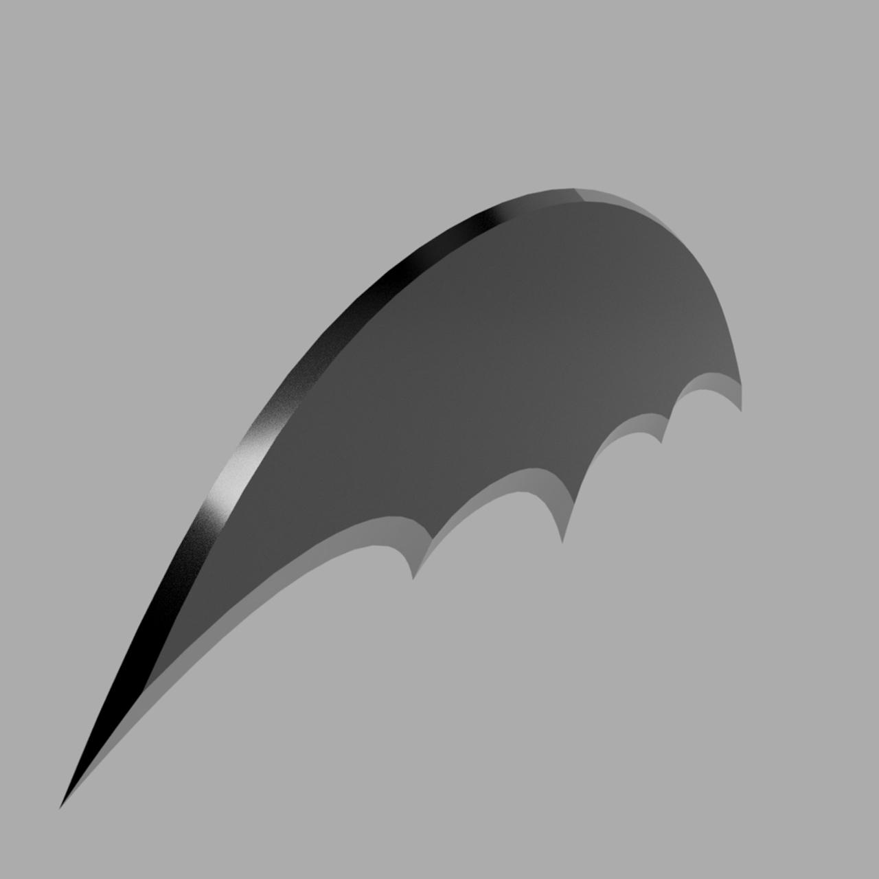 Btas2.jpg Télécharger fichier STL gratuit BATARANG BTAS (ANIMÉ) • Objet pour impression 3D, jediSam