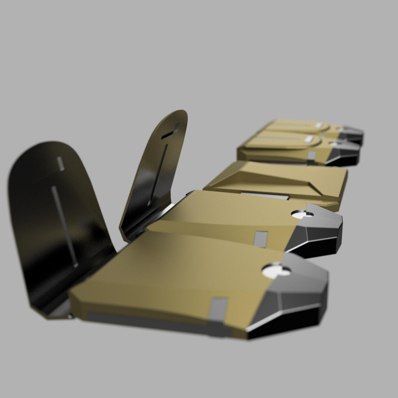 cults4.jpg Télécharger fichier STL CEINTURE DE SERVICE DE LA VILLE DE BATMAN ARKHAM • Plan à imprimer en 3D, jediSam