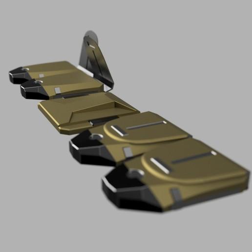 cults2.jpg Télécharger fichier STL CEINTURE DE SERVICE DE LA VILLE DE BATMAN ARKHAM • Plan à imprimer en 3D, jediSam