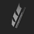 fins3.png Télécharger fichier STL NAGEOIRES DE BATMAN (LAMES) • Objet pour impression 3D, jediSam